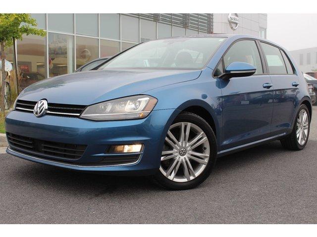 Volkswagen Golf CONFORTLINE+NAV+CUIR PANO+TOIT+COMM. AU VOLAN 2015