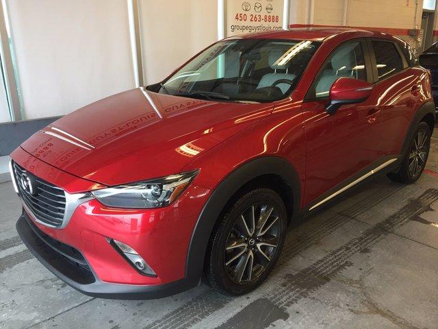 Mazda CX-3 GT   cuir blanc 2016