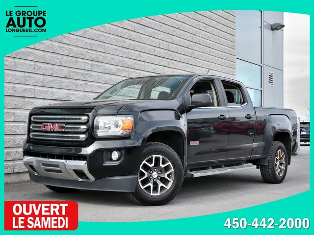Gmc Canyon *4WD*DIESEL*ALL TERRAIN*NOIR*CREWCAB* 2016
