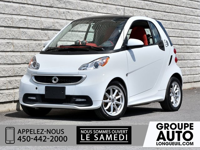 Smart Fortwo electric drive *PASSION*AUTOM*A/C*TOIT*NAVI* 2014