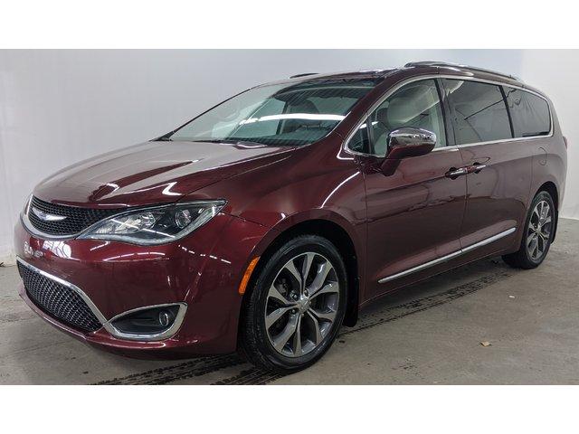 Chrysler Pacifica Limitée mags caméra nav toit cuir bluetooth a 2017