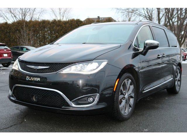 Chrysler Pacifica LIMITED-STOWNGO-CUIR-TOIT-SIÈGE CHAUFFANT-CAM 2017