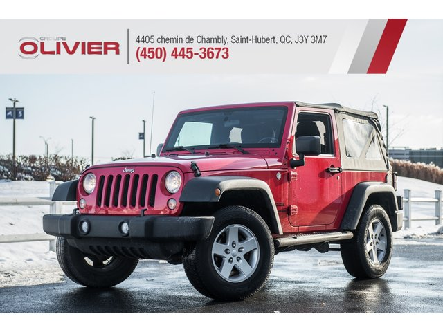 Jeep Wrangler Sport 4X4 MAGS A/C ULTRA CLEAN 2015