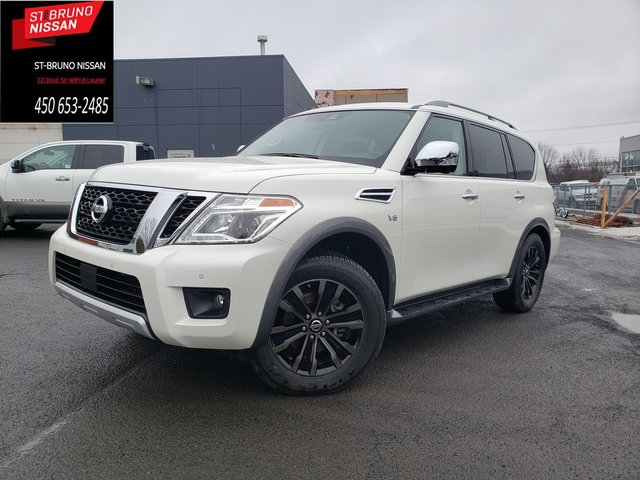 Nissan Armada Platinum, certifie seulement 7461km 2018
