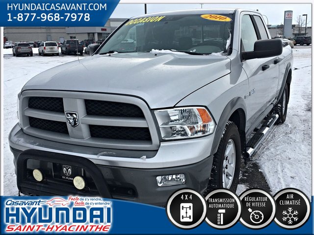 RAM 1500 TRX AWD ** mags, climatisation **tel quel 2010