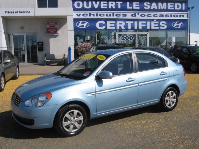 Hyundai Accent L ** Jamais accidenté, une seule propriétaire 2010