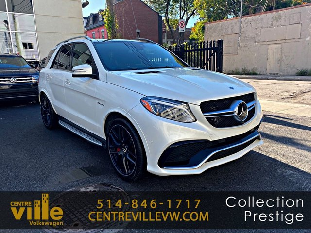 Mercedes-Benz GLE AMG 63 S 4MATIC+PREMIUM PACKAGE+AMG EXHAUST+L 2018