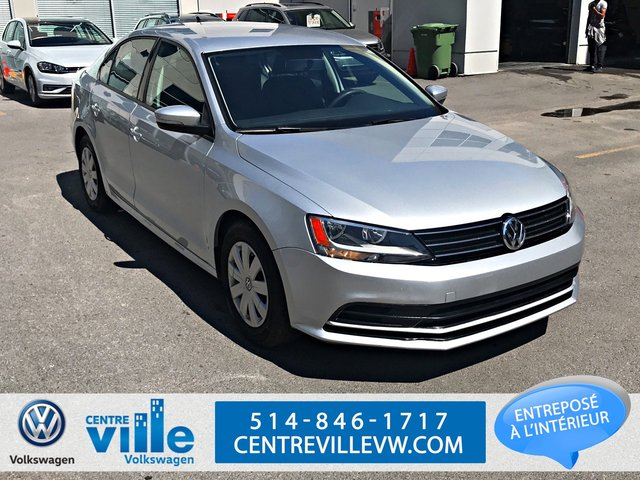 Volkswagen Jetta TRENDLINE PLUS AUTOMATIC+BLUETOOTH+CAMERA+(CL 2015