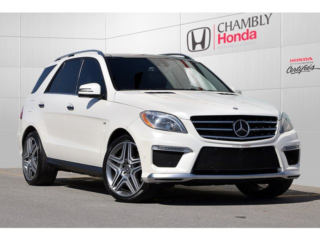 Mercedes-Benz M-Class ML 63 AMG*PREMIUM*DISTRONIC*MAGS 21' 2014