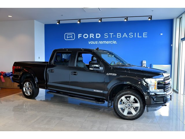 Ford F-150 SUPERCREW / LARIAT 502A / DIESEL / POWERSTROK 2018