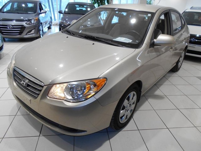 Hyundai Elantra GL **AIR CLIM.CD,CRUISE,TRES BAS KM** 2008