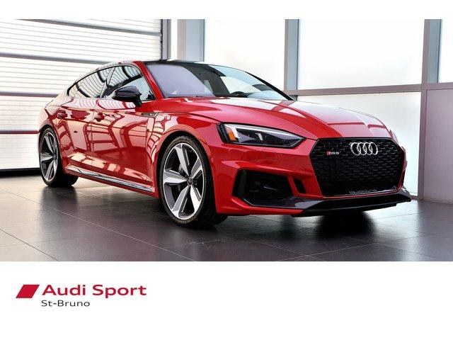 Audi RS 5 Sportback CÉRAMIQUE + NEUVE = 116 745$ + SHOWROOM 2019