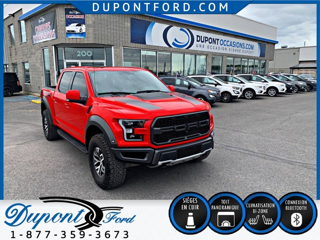 Ford F-150 ***4WD SUPERCREW RAPTOR-MARCHE PIED-CUIR*** 2018
