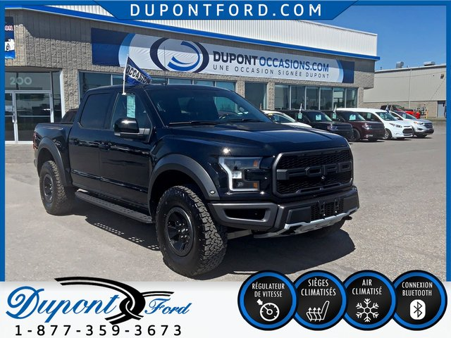 Ford F-150 4WD SUPER CAB 133'' WB RAPTOR LOCATION COMERCIAL DISPO - JAMAIS ACCIDENTÉ 2018