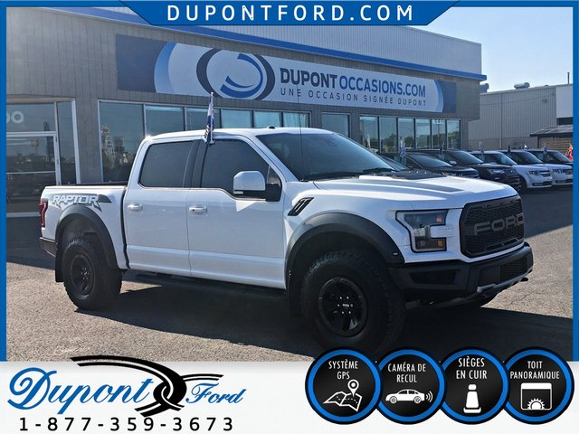 Ford F-150 4WD Super Crew 145'' WB Raptor AWD-TRES RARE- 2018