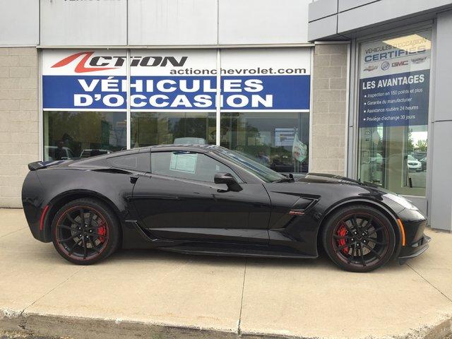 Chevrolet Corvette Grand Sport 2LT Auto Cuir GPS 6.2L BAS KM 2019