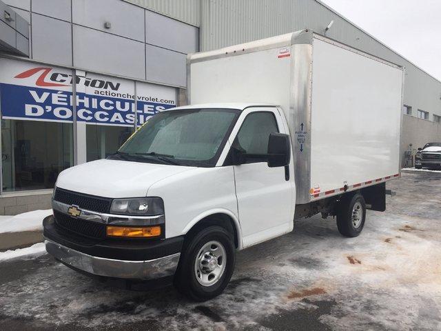 Chevrolet Express 3500 3500 CUBE 12 PIEDS AVEC RAMPE 2018