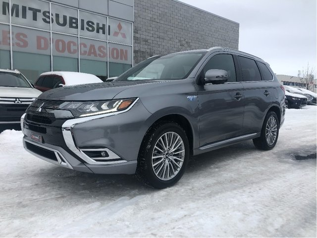 Mitsubishi Outlander PHEV SEL S-AWC+CUIR+TOIT+MAGS 18+CAMÉRA+APPLE CARP 2020
