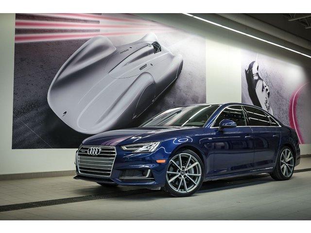Audi A4 Technik +SLINE+DRIVER ASSIST + BANC VENTILÉ + 2017