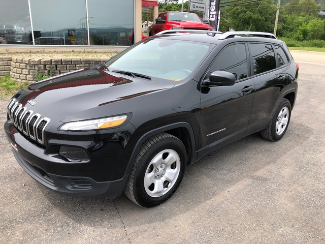 Jeep Cherokee Sport * V6, GROUPE REMORQUAGE, DÉMARREUR * 2016