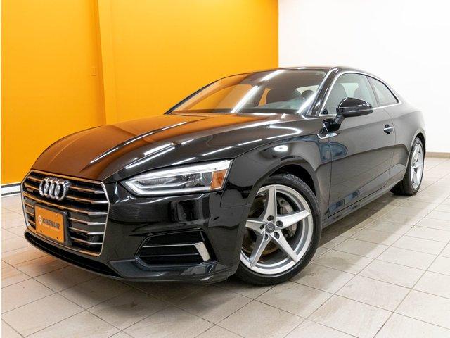 Audi A5 KOMFORT QUATTRO 252HP TOIT CAMÉRA 360 CUIR *C 2018