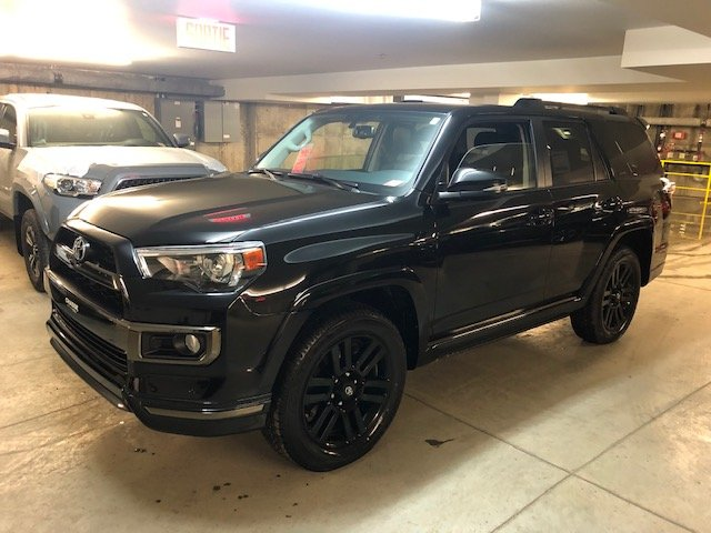 Toyota 4Runner LIMITED NIGHT SHADE EDITION 2019