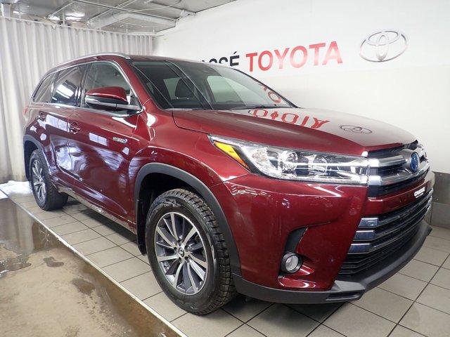 Toyota Highlander Hybrid XLE + Pneus et démarreur 2018