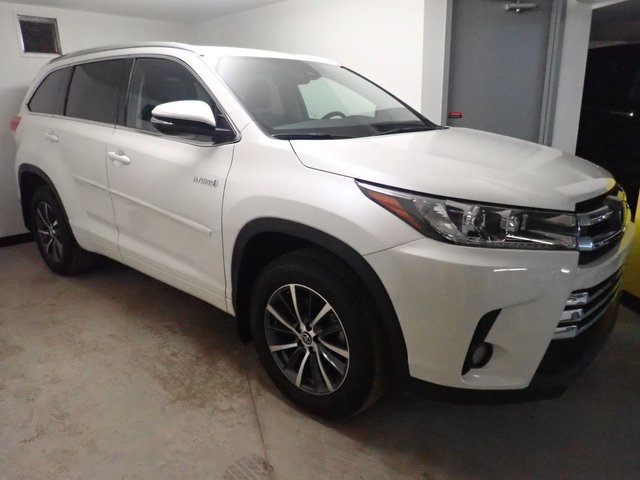 Toyota Highlander hybrid XLE - DEMO 2018