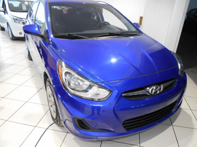 Hyundai Accent 5 GL ** A/C,CRUISE,GR.ELECT.TRES BAS KM. 2013