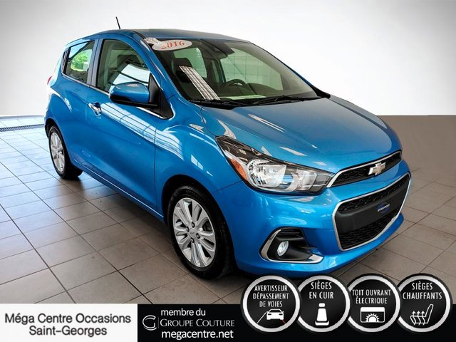 Chevrolet Spark 2LT CUIR TOIT MAGS COMME NEUF 2016
