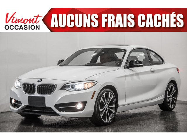 BMW Série 2 2015+228I XDRIVE+CUIR+BLUETOOTH 2015