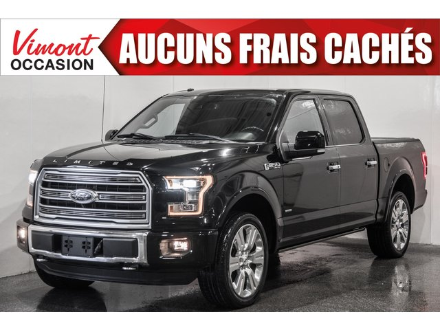 Ford F-150 2017+4WD+LIMITED+SUPERCREW+CUIR+NAV+TOIT+CAME 2017