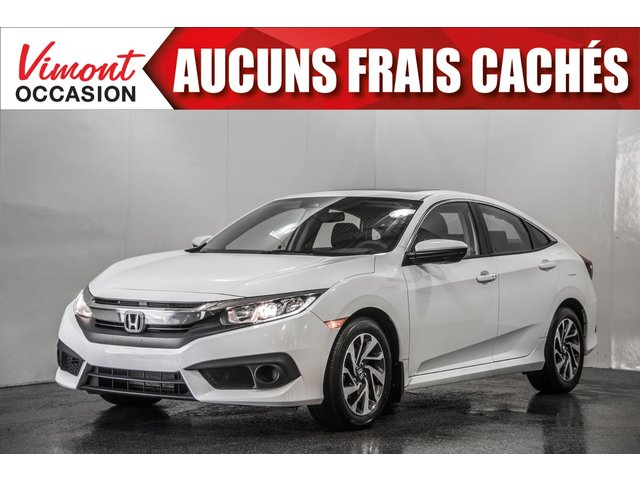 Honda Civic Sedan 2016+EX+TOIT+CAMERA RECUL+SIEGES CHAUFFANTS 2016