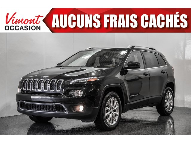 Jeep Cherokee 2015+AWD+LIMITED+CUIR+CAMERA RECUL+BLUETOOTH 2015