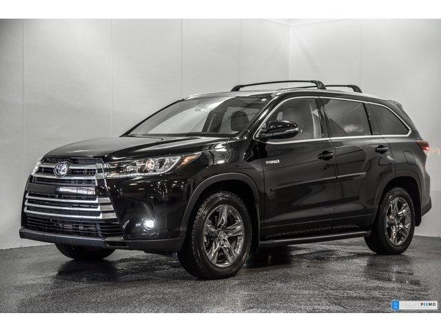 Toyota Highlander HYBRID LIMITED 5170$ ACCESSOIRES INCLUS 2019