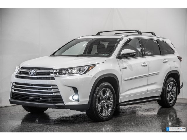 Toyota Highlander HYBRID LIMITED 4806$ D'ACCESSOIRES INCLUS 2019