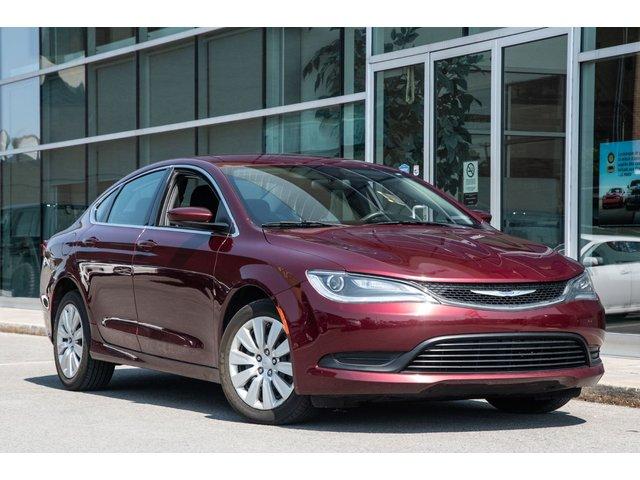 Chrysler 200 LX JAMAIS ACCIDENTÉ TRAITEMENT ANTIROUILLE AC 2016