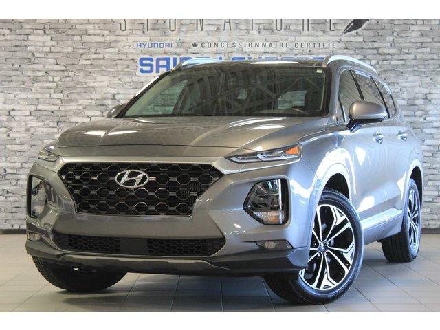 Hyundai Santa Fe ULTIMATE/TOIT PANO/CUIR/NAV/KEYLESS/BLUELINK 2019