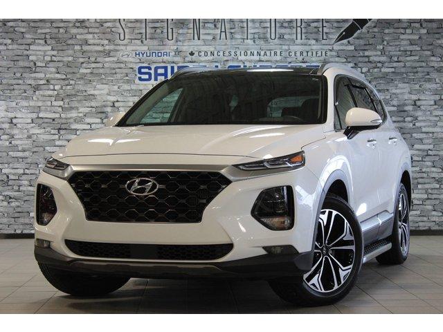 Hyundai Santa Fe ULTIMATE*TOIT PANO*BLUELINK*CUIR*CAM 360*NAV 2019