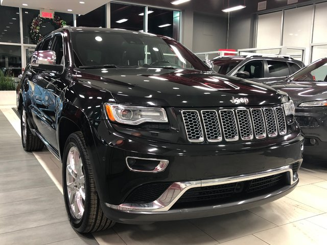 Jeep Grand Cherokee SUMMIT / TOIT OUVRANT  / TOUT EQUIPE 2016