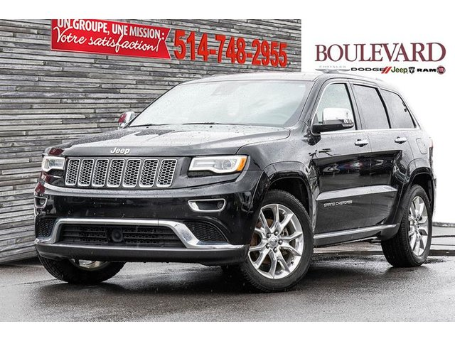 Jeep Grand Cherokee 4X4 SUMMIT JAMAIS ACCIDENT? TOIT PANO / NAVIG 2016