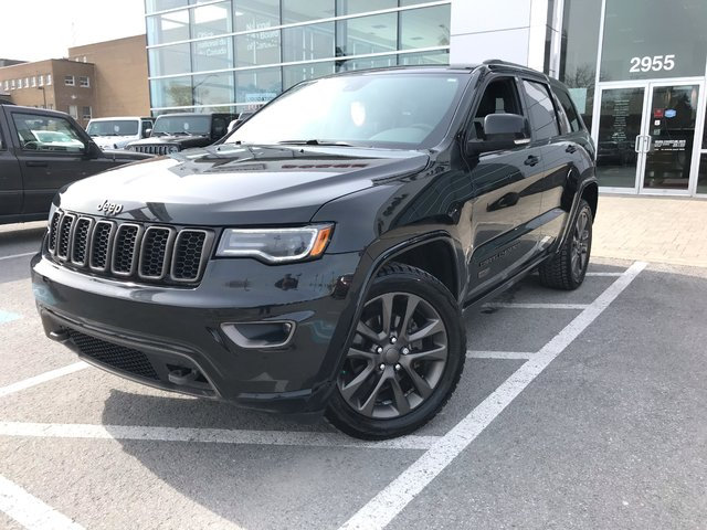Jeep Grand Cherokee LIMITED 75TH ANNIVERSARY CUIR TOIT PANO 2016