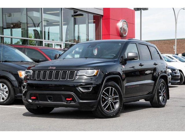 Jeep Grand Cherokee TRAILHAWK TECH-PACK V8 SI?GES VENTILL? 2017