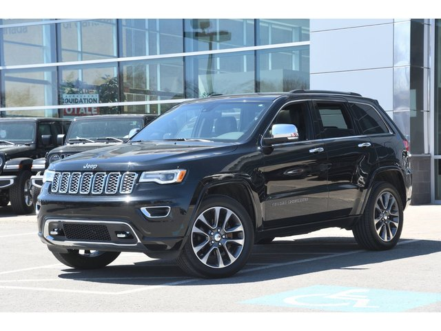 Jeep Grand Cherokee OVERLAND 4X4 CUIR TOIT PANORAMIQUE NAV 2018