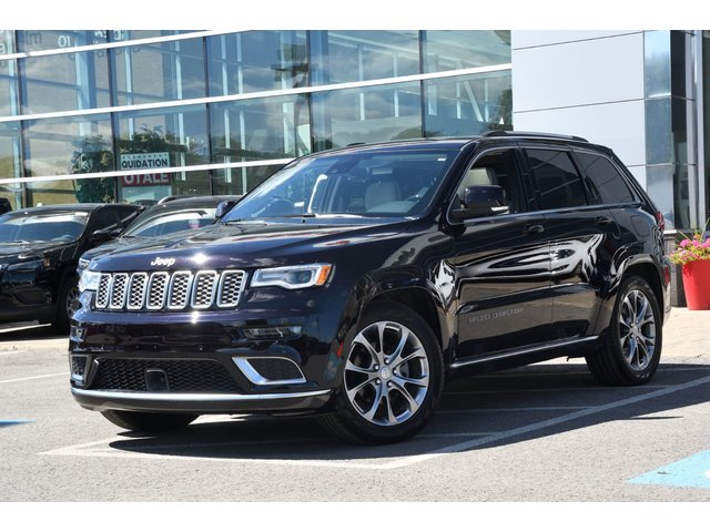 Jeep Grand Cherokee SUMMIT V6  CUIR SIGNATURE COULEUR ULTRAVIOLET 2019