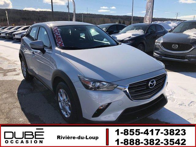 Mazda CX-3 GS ÉTAT IMPECCABLE! SIÈGES CHAUFFANTS 2019