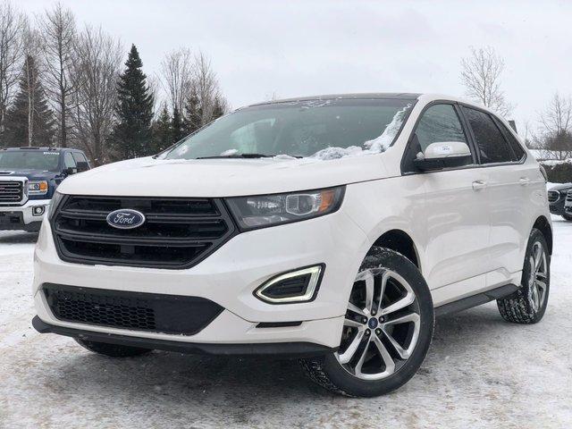 Ford Edge SPORT, ECOBOOST 2.7L, AWD, CUIR+TOIT+GPS !!! 2017