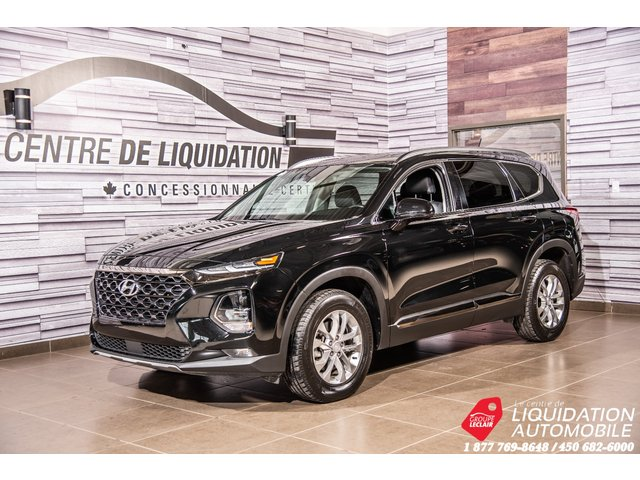 Hyundai Santa Fe Essential+MAGS+CAM/RECUL+APPLE CARPLAY 2019