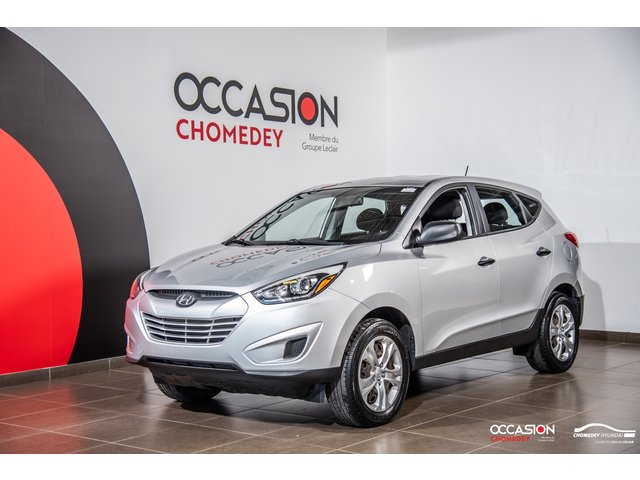 Hyundai Tucson GL+SIEGES CHAUFFANTS+REG DE VITESSE 2014
