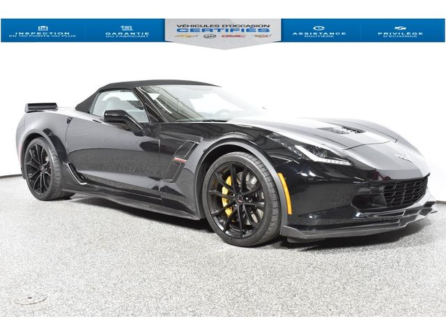Chevrolet Corvette Grand Sport  enregistreur video  Carbon Kit Z 2017